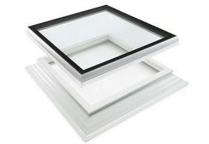 Dakkoepel iWindow 2 incl. opstand deluxe glas 60x60 cm
