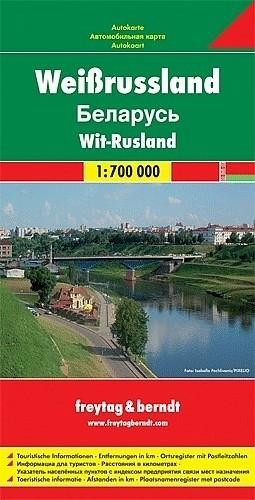 Wegenkaart - Landkaart Wit Rusland - Freytag & Berndt