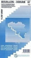 Topografische Wandelkaart België 67/1-2 Bouillon - Dohan  …