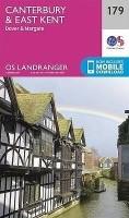 Topografische Wandelkaart 179 Canterbury / East Kent Dover…