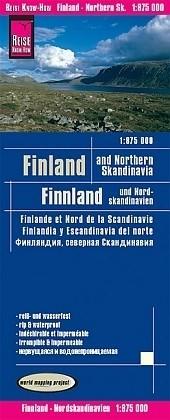 Wegenkaart - Landkaart Finland en Noord Scandinavie - World…