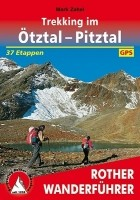 Wandelgids Trekking im ötztal Pitztal   Rother Bergverlag