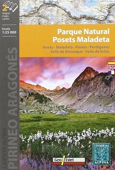 Wandelkaart Aneto / Maladeta / Posets /Perdiguero - Editori…
