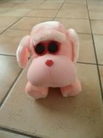 E 2 -> NIEUW! Zachte roze knuffelhond