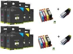 Geschikt HP 364XL AANBIEDING SET XL serie MET CHIP  10x  va…