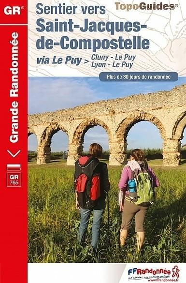 Wandelgids 765 GR765 Lyon - Cluny - Le Puy Sentiers vers Sa…
