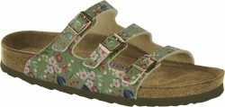 Florida - Meadow Flowers Khaki Soft Footbed-39-Smalle voet
