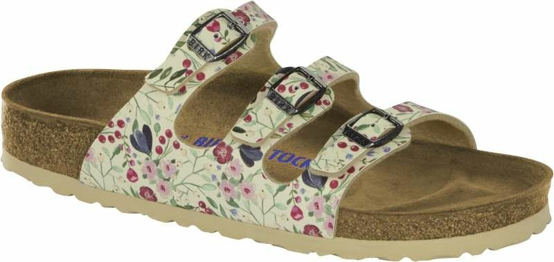 Florida - Meadow Flowers Beige Soft Footbed-42-Smalle voet
