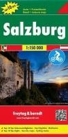 Wegenkaart - Landkaart Salzburg Salzburgerland (oer 66) - F…