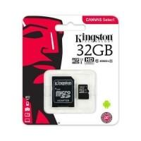 Kingston 32gb microsdhc geheugenkaart class 10 uhs-i
