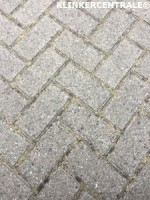 19128 ROOIKORTING 3.000m2 grijs betonklinkers straatstenen…