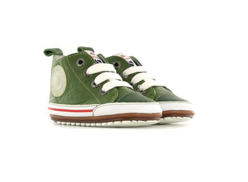 Shoesme sneaker - Green baby proof-19