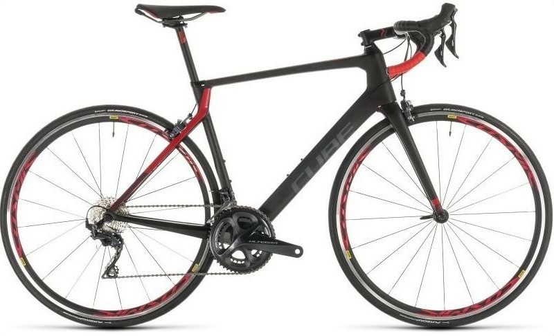 Cube agree c:62 pro 2019 - 53 cm - carbon/red