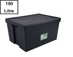 Wham Bam Heavy Duty Recycled Box - 150 liter met deksel.