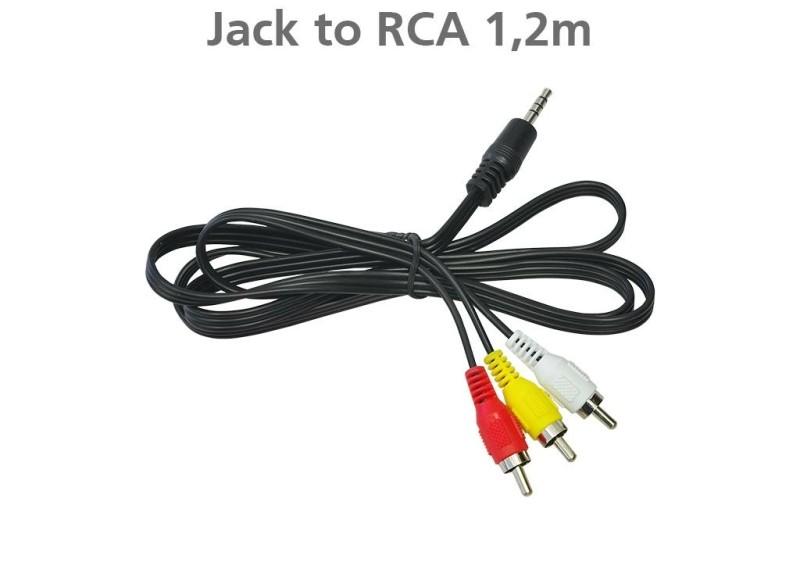 Edision kabel Jack naar RCA 1m20