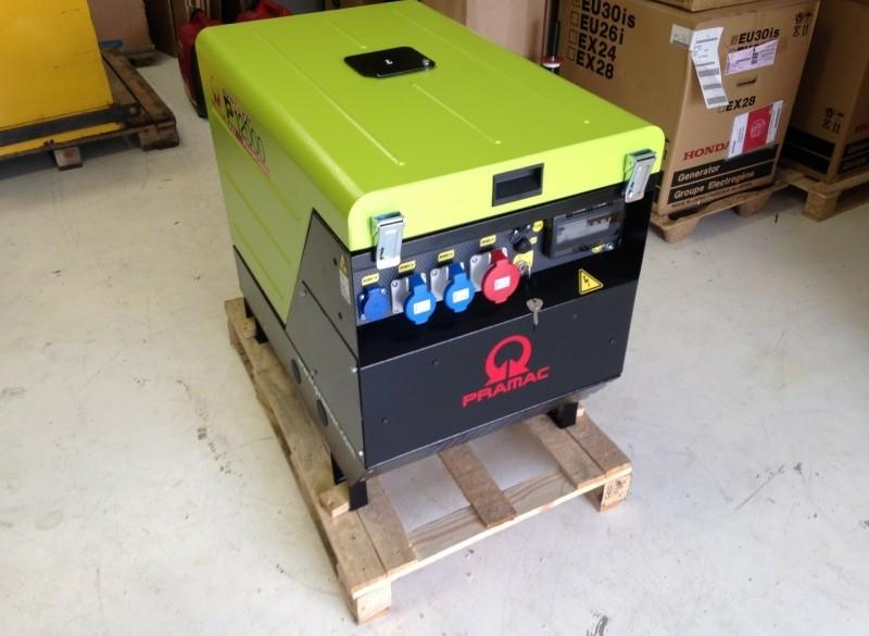 Aggregaat Pramac Honda 14 kVA silent 400V