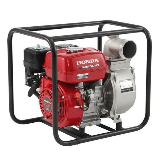 Waterpomp Honda WB30XT pompcapaciteit 1100 liter per uur