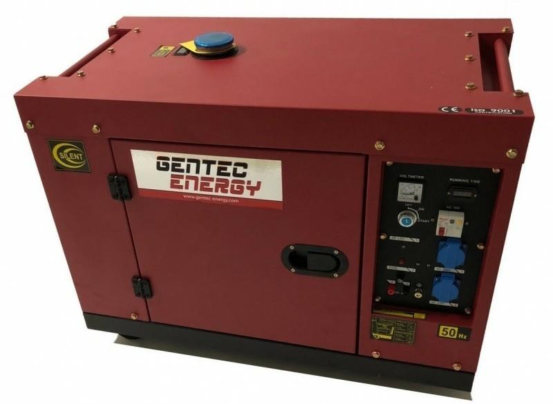 Aggregaat Gentec Diesel GYD7500 5,5 KW 230V