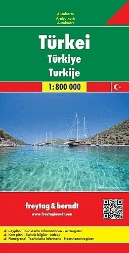 Wegenkaart - Landkaart Turkije - Freytag & Berndt
