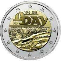 Frankrijk 2 Euro 2014 D-Day