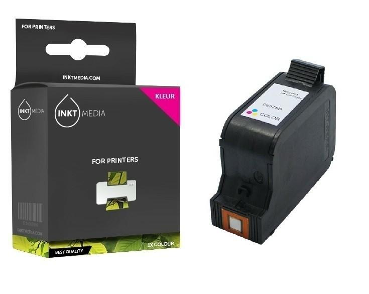 Geschikt HP 78A C6578AE inktcartridge kleur van Inktmedia