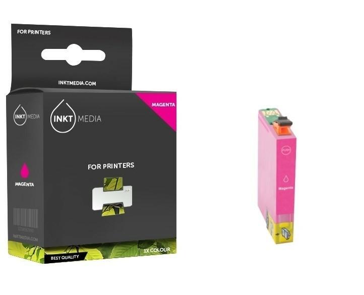 Geschikt Epson T0483  inktcartridge Magenta van Inktmedia