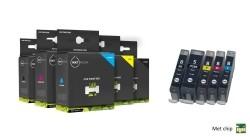 Geschikt Canon PGI-5BK en cli-8 serie inkt  MET CHIP van In…