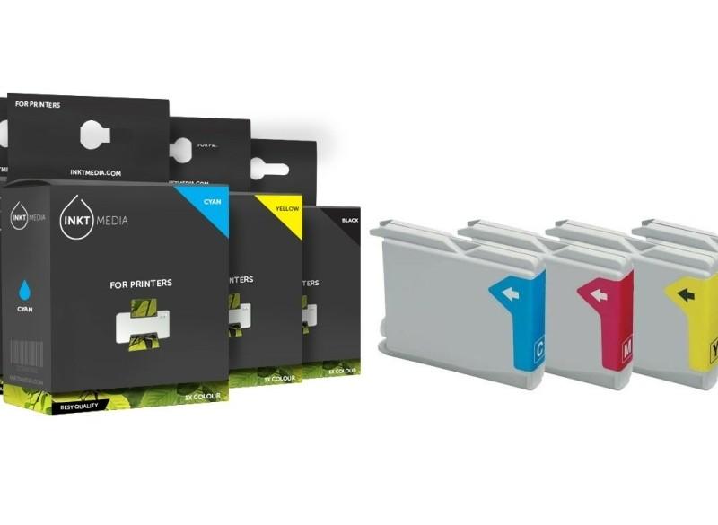 Geschikt Brother LC-970 serie inktcartridges SET van Inktme…