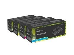 Geschikt Set Epson toner cartridge S050190, 189, 188, 187 v…