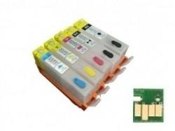 Geschikt Hp 364XL serie Navulbare cartridges set van 5 stuk…
