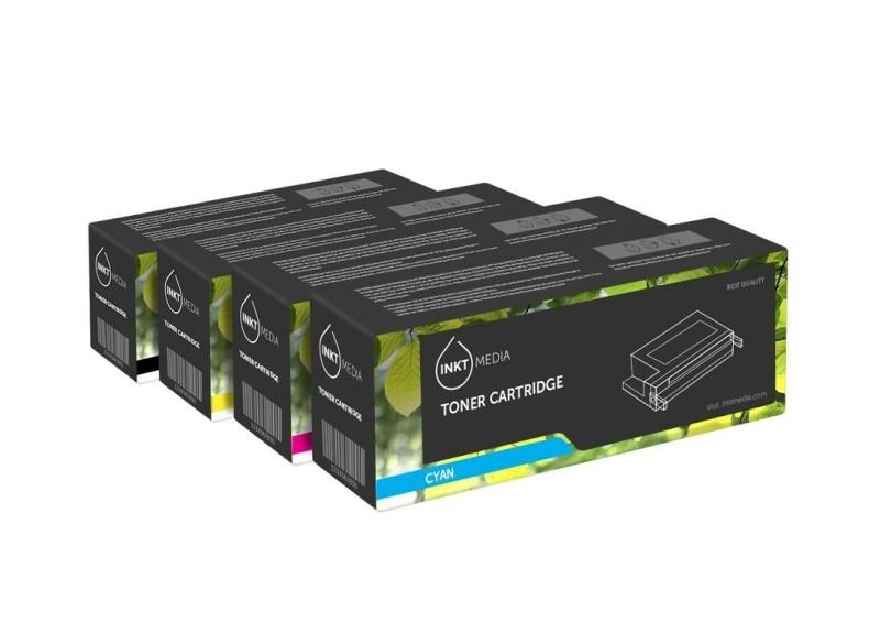 Geschikt HP 973X Set zwart, cyaan, magenta en geel van Inkt…