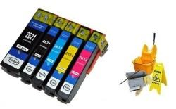 Geschikt Epson 26XL SET Reinigings inktcartridges van Inktm…