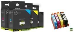Geschikt HP 655 XL Set inktcartridges Zwart Cyaan Magenta G…