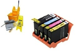Geschikt Lexmark 150XL Set Reinigings cartridges van Inktme…