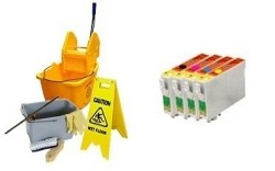 Geschikt Epson T0551 tot T0554 SET Reinigings cartridges va…