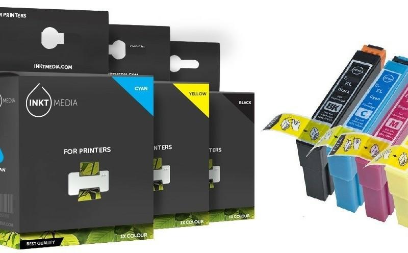Geschikt Epson T0551 tot T0554 SET inktcartridges van Inktm…