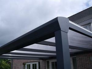 Glasoverkapping Topline 400 x 300 cm