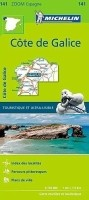 Fietskaart - Wegenkaart - Landkaart 141 Costa Galicia Galic…