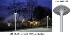 ACTIE : LED solar lantaarnpaal armatuur + zonnepaneel + afs…
