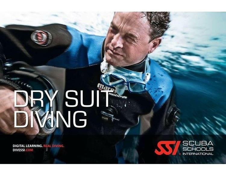 SSI Navigatie, Independent Diving Dry Suit Diving Droogpak