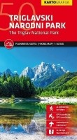 Wandelkaart Triglav National Park   Kartografija