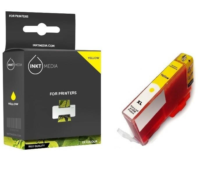 Geschikt HP 655 XL inktcartridge Geel  (CZ112A) van Inktmed…