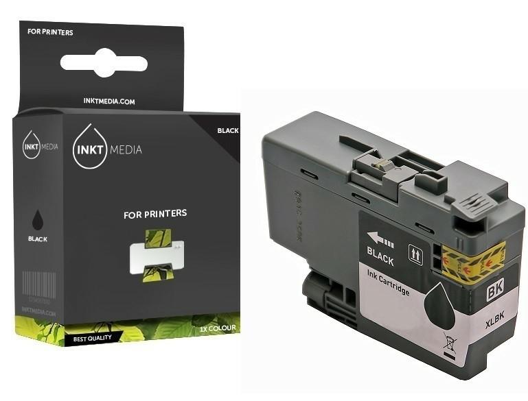 Geschikt Brother LC-3237BK / LC-3239BK XL inktcartridge zwa…