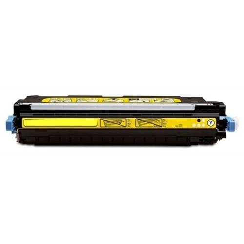 Geschikt HP Q6472A toner geel van Inktmedia