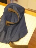 Weekend tas met wieltjes, donker blauw