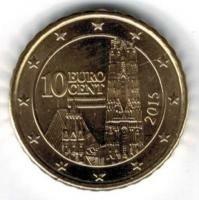 Oostenrijk 10 cent 2015