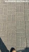 19160 ROOIKORTING 350m2 grijs betonklinkers straatstenen bk…