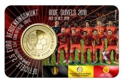 België 2,5 Euro 2018 Coincard Rode Duivels Nederlands