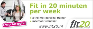 Fit in 20 minuten per week!