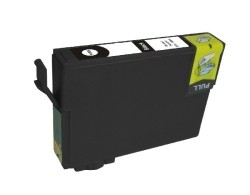Inktcartridge Epson T-611 zwart (huismerk)